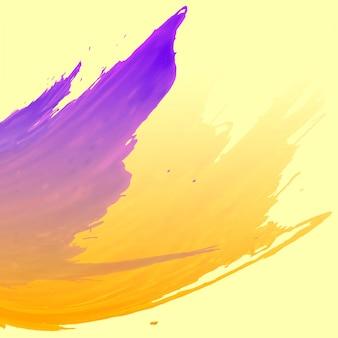 Абстрактный красочный акварельный фон