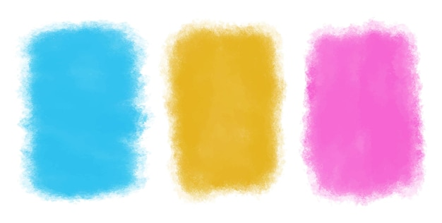 Abstract colorful watercolor backgrounds