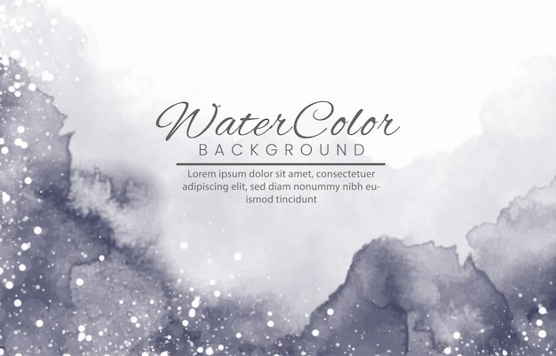 背景の抽象的なカラフルな水彩画