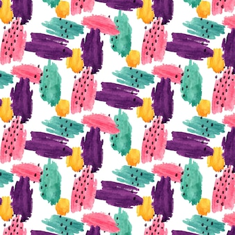Abstract colorful watercolor pattern