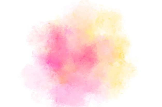 Abstract colorful watercolor splashing background.