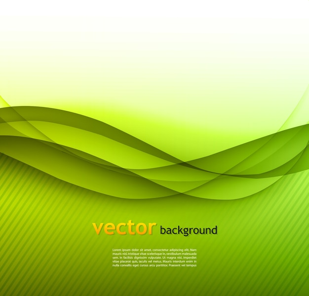 Abstract colorful waved background
