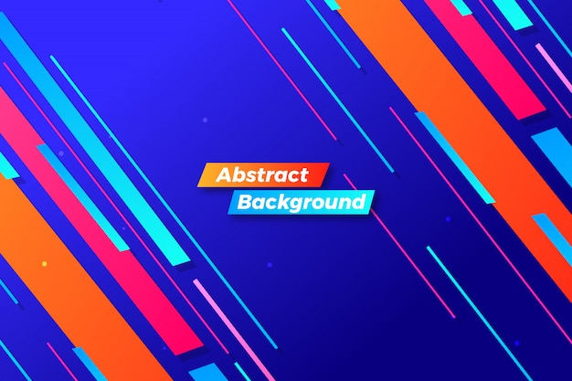 Abstract colorul motion background