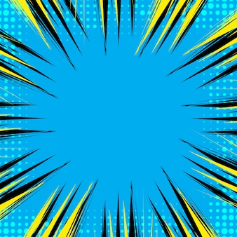 Abstract comic book background