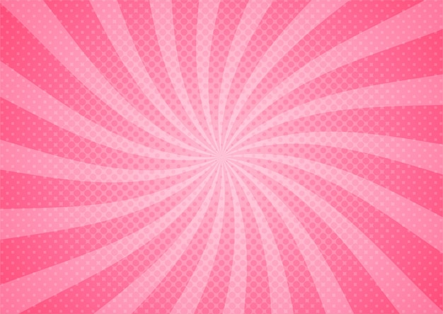 Abstract comic pink illustration cartoon style. background