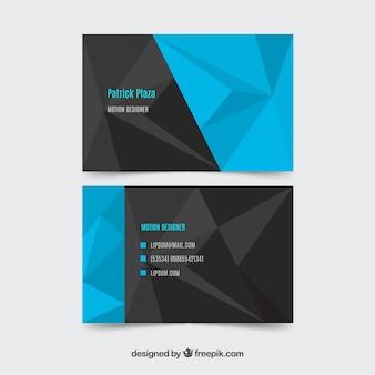 Абстрактная карточка компании
