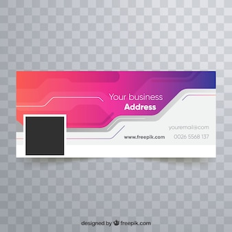 Abstract company facebook cover