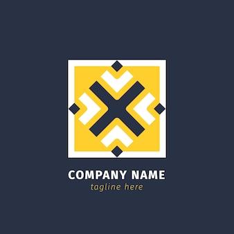 抽象的な会社のロゴ