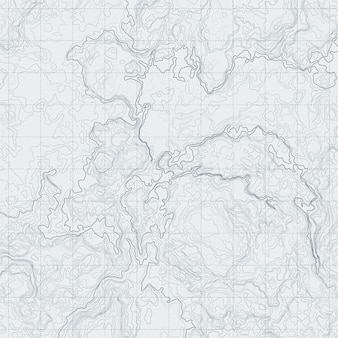 Abstract contour map with different relief. topographic vector illustration for navigation