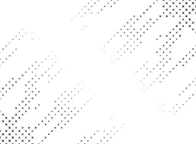 Abstract corner sparkle halftone background design