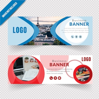 Abstract corporate business banner