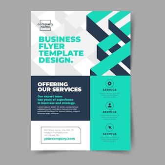 Абстрактные корпоративные бизнес-листовки