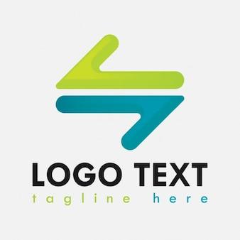 Abstract corporative logo