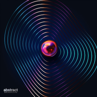 Abstract cover design.