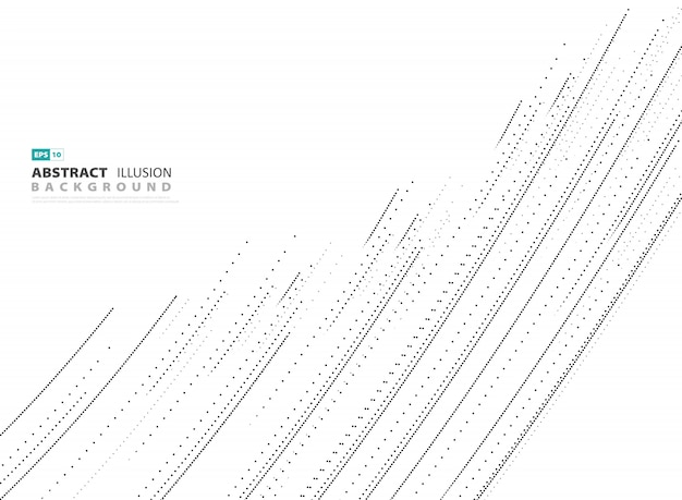 Abstract cover dot line  on white background.