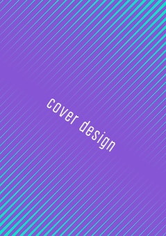 Abstract cover. minimal trendy vector with halftone gradients. geometric future template for flyer, poster, brochure and invitation. minimalistic colorful cover. abstract eps 10 illustration.