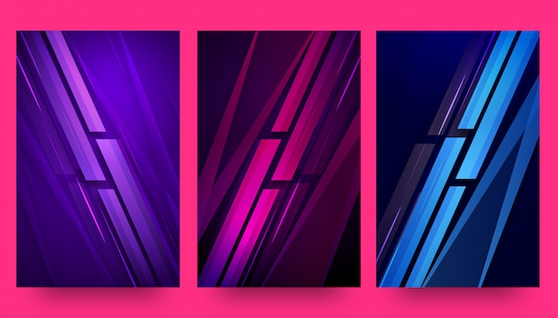 Abstract creative background templates and wallpapers