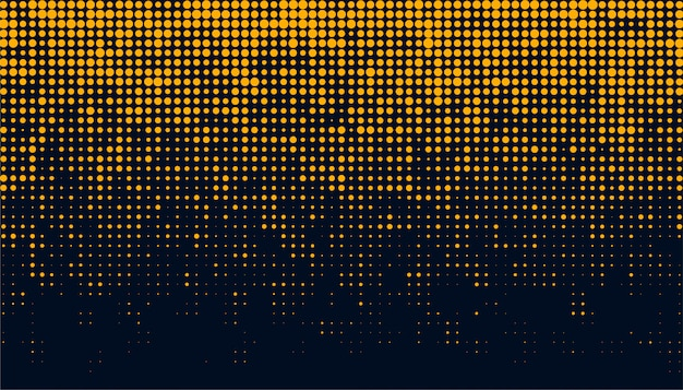 Abstract and creative of circular halftone dots background  template