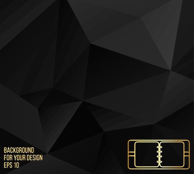Абстрактный фон вектор творческой концепции. элементы дизайна иконок линии. современные векторные пиктограммы блокнота. фирменные бланки и брошюры в стиле дизайна.