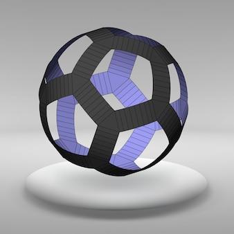 幾何学的形状の抽象的な創造的な概念ベクトルの背景。ベクトルイラスト