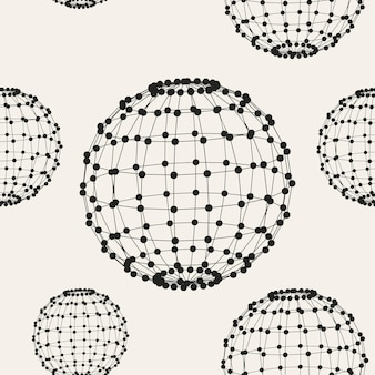Abstract creative concept vector pattern background of geometric shapes the lines connected to points. polygonal design style for business. vector illustration eps 10 for your design.
