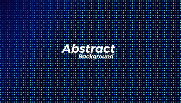 Abstract creative dots background design