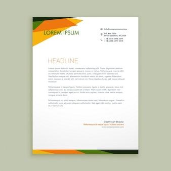 Абстрактные креативный дизайн письмо