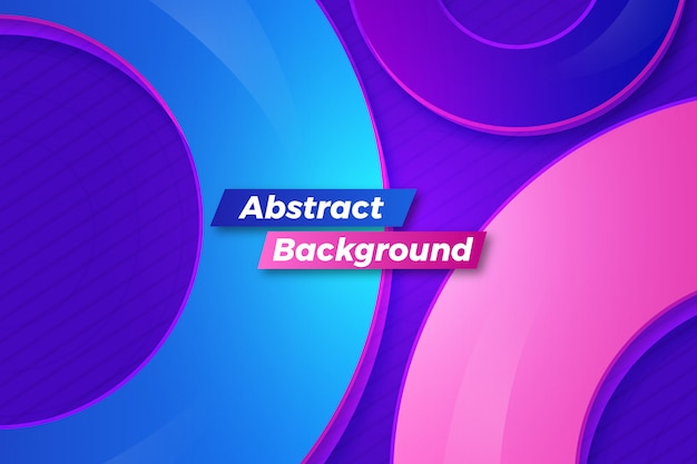 Abstract creative modern shapes vector background design