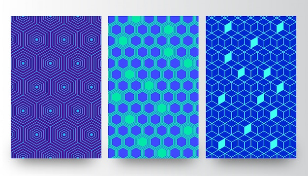 Abstract creative pattern background templates