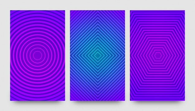Abstract creative pattern backgrounds