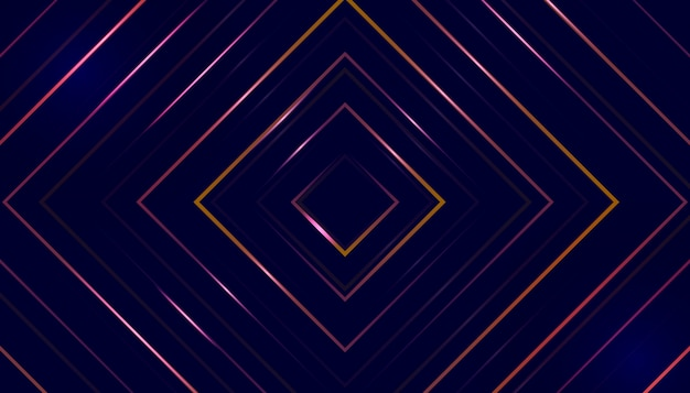 Abstract creative pattern illusion background