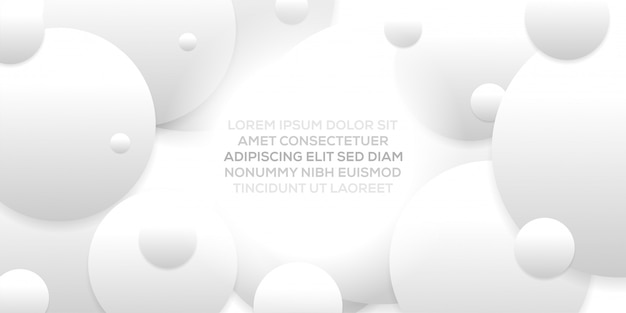 Abstract creative trendy dynamic modern design with grey white abstract background