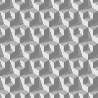 Абстрактный куб бесшовные модели