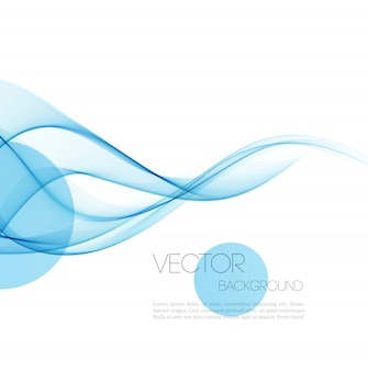 Abstract curved lines background.