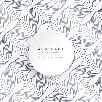 抽象的な曲線ラインパターンの背景