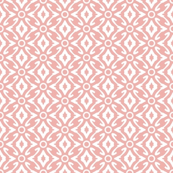 Abstract damask wallpaper pink color