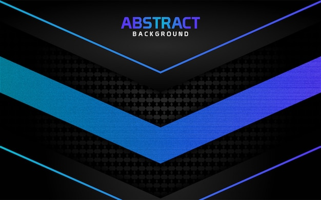Abstract dark background and blue lines in  style