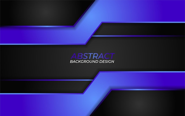 Abstract dark background combination with gradient blue