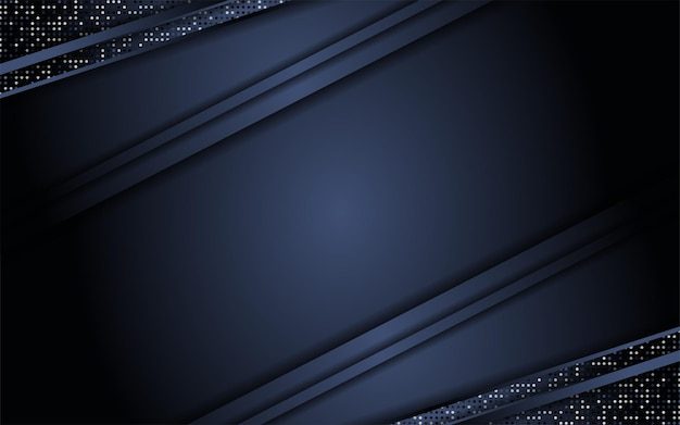 Абстрактный темный фон в сочетании с блеском
