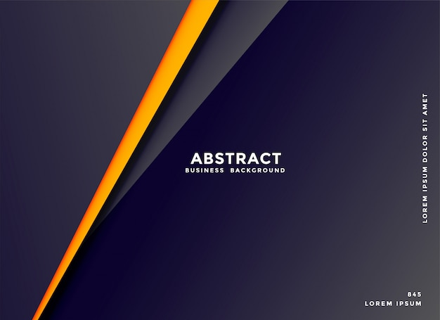 Abstract dark background with geometric lines shape