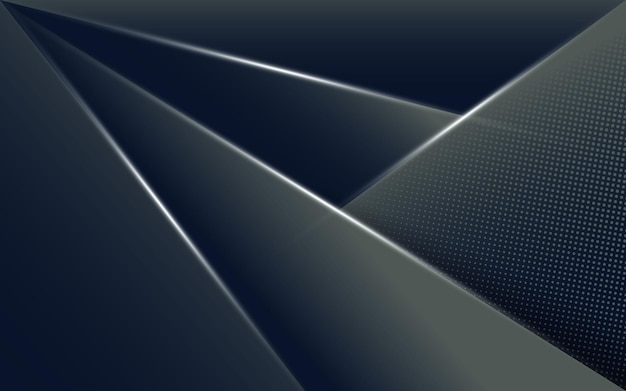 Abstract dark background with geometric shape
