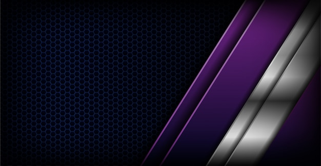 Abstract dark background with overlap purple
