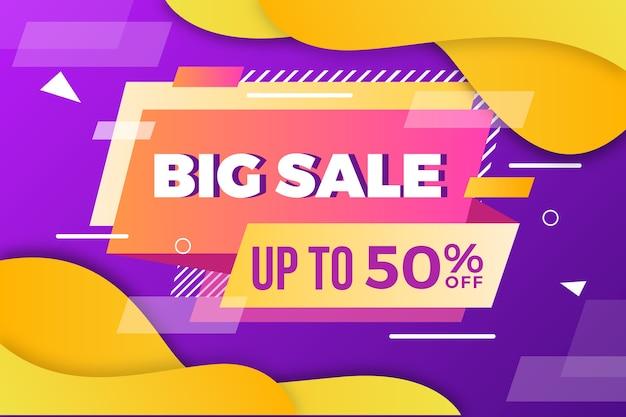 Abstract dark big sale background