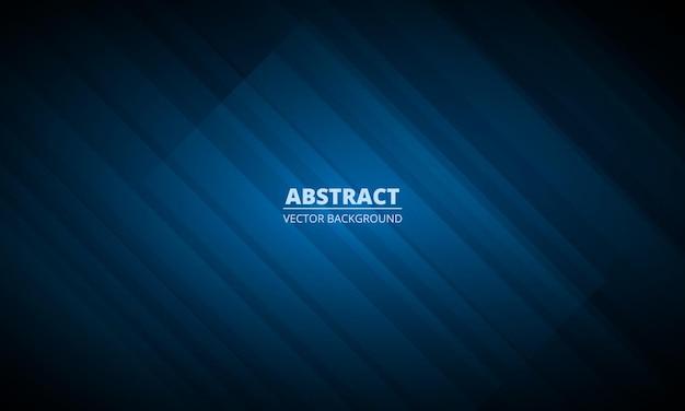現代の企業コンセプトと抽象的な紺色の幾何学的な背景