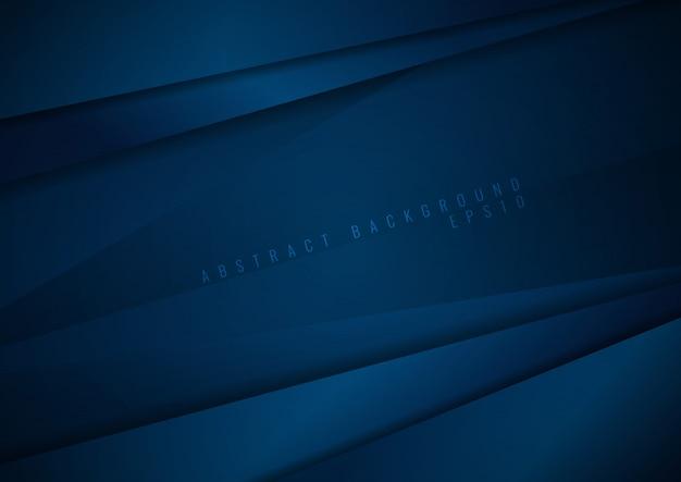 抽象的な暗い青色の紙の背景