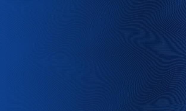 曲線の背景と抽象的な紺色ベクトル図