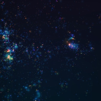 Abstract dark galaxy vector