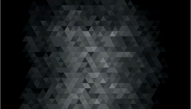 Abstract dark geometric shape background