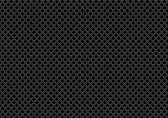 Abstract dark gray diamond mesh pattern background