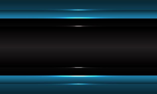 추상 어두운 회색 파란색 금속 디자인 현대 미래 배경.